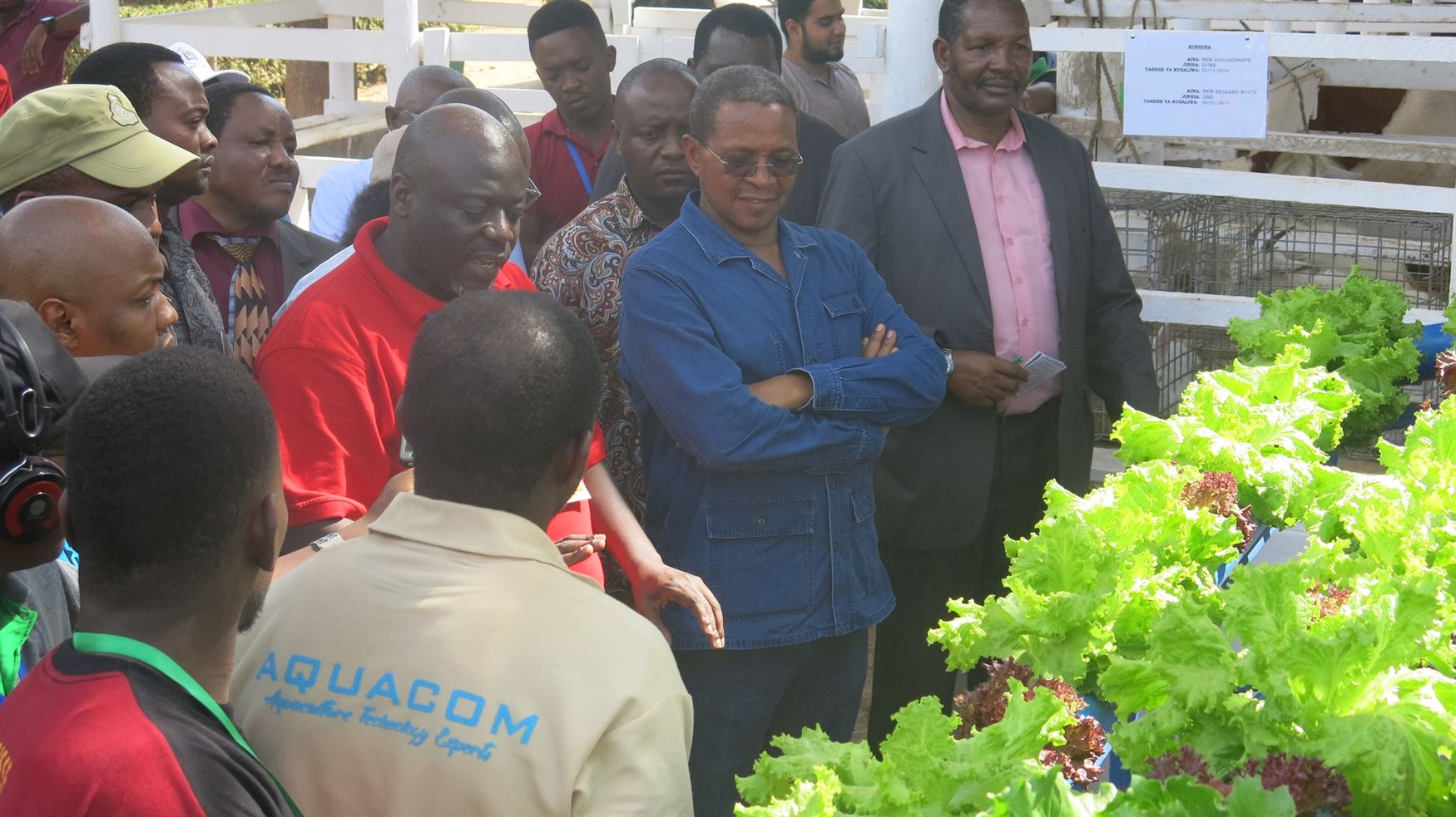 Kikwete at Sokoine University of Agriculture