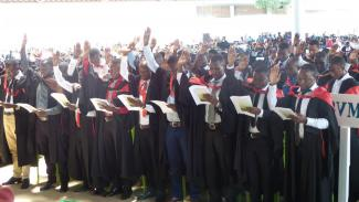 33rd Graduation Ceremony held at Solomon Mahlangu Campus on 24th November ,2017